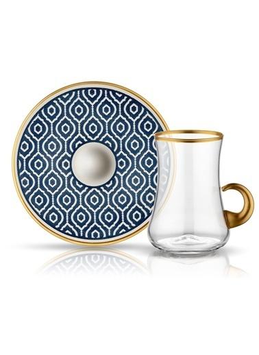 Koleksiyon Dervish Kulplu Çay St 6'lı Marakesh Antrasıt-Koleksiyon